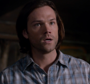 Sam gets pissed because Dean isn't listening