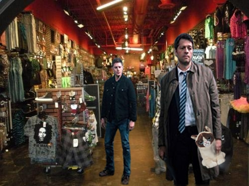 Hot Topic Dean and Cas